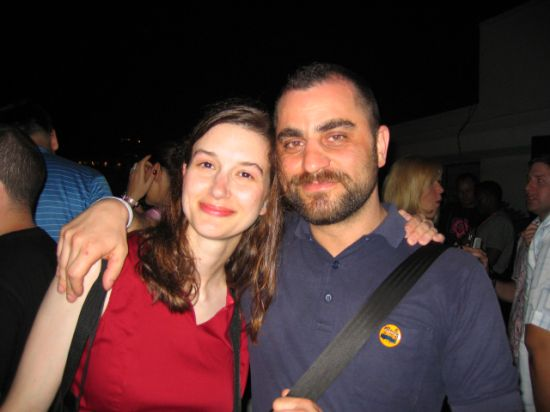 Christine Moritz and Rino Spadavecchia at WMC 2005